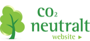 co2 neutral hjemmeside logo